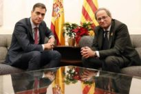 Así son las 21 exigencias que Torra lanzó a Sánchez en Barcelona