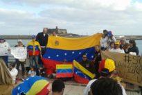 El PSOE frena un acto en contra de Maduro en Canarias