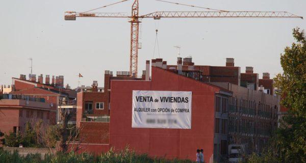 La compraventa de viviendas crece en Aragón a menos ritmo que en el conjunto de España