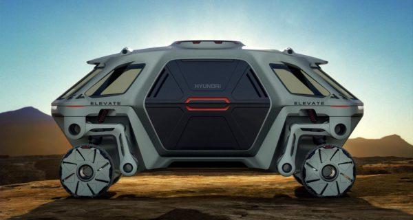 Hyundai Elevate: el primer vehículo capaz de «caminar» por cualquier terreno