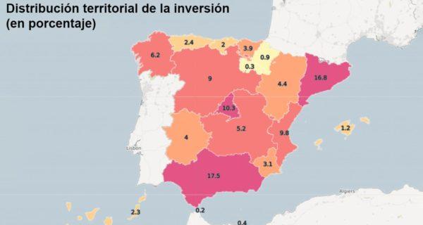 La inversión en infraestructuras en Cataluña se dispara un 66%, hasta los 2.251 millones de euros