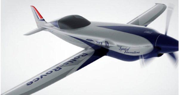 Rolls-Royce muestra su avión eléctrico: 500 CV y 300 kilómetros de autonomía