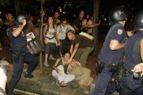 La Fiscalía pide 70 años de cárcel para 15 jóvenes por los altercados tras la manifestación del 15-M