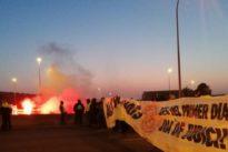 Los CDR tratan de bloquear Cataluña con barricadas de fuego y cortes de carretera