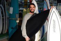 Una tabla de surf vasca elegida la segunda mejor del mundo