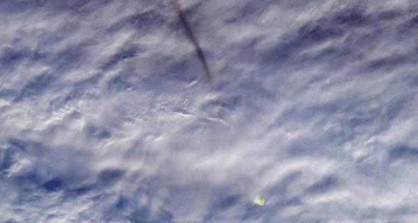 La NASA desvela increíbles imágenes de la bola de fuego que explotó sobre el mar de Bering