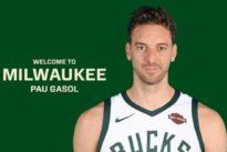 Pau Gasol ficha por los Milwaukee Bucks