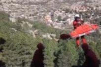 Herido grave un escalador tras caer desde cinco metros en La Pedriza
