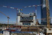 Torre Caleido: el quinto coloso de la Castellana empieza su ascenso, que concluirá en septiembre