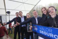Feijóo: «Pablo Casado es el candidato que precisa y que quiere y que le interesa a Galicia»