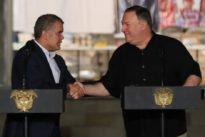 Pompeo aseveró a Colombia que «EE.UU. hará su parte para reducir la demanda de drogas ilícitas»
