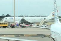 Aterrizaje de emergencia de un avión israelí en Barcelona al incendiarse uno de sus motores