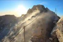 Vídeo: Así echa humo el volcán del Teide en Canarias