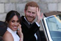 Meghan Markle y el Príncipe Harry publican fotos inéditas de su boda