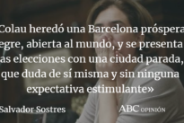 La Barcelona triste de Ada Colau