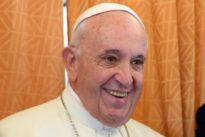 El Papa bromea de nuevo sobre su viaje a España: «Me lo voy a pensar»