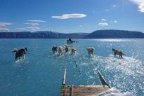 Se hace viral una fotografía que alerta sobre la situación del deshielo en Groenlandia