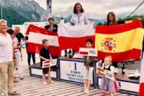 Violeta del Reino, bronce en el Campeonato de Europa de vela adaptada