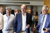 Lambán ofrece altos cargos a Podemos a cambio de que apoyen su investidura