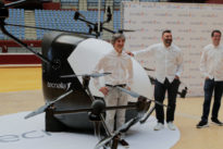 El primer taxi volador de España es ya una realidad