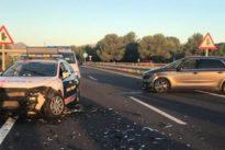 Vídeo: Así pararon los Mossos un coche «kamikaze» que circuló 36 km a contra dirección