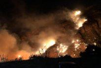 La furia de las llamas en Canarias, fuego desbocado