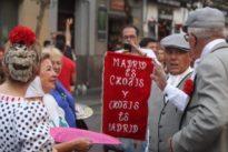 La Virgen de La Paloma toma el relevo en las verbenas de agosto