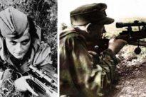 Duelo de francotiradores en la Segunda Guerra Mundial: la «destructora» rusa contra el nazi más letal