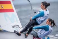 Silvia Mas y Patricia Cantero lideran el Mundial de 470