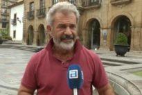 Mel Gibson, de vacaciones en Galicia y Asturias