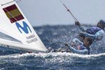 El 470 español con Jordi Xammar y Nicolás Rodríguez, líder en Enoshima
