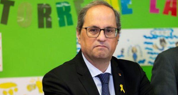 El TSJC tramitará la petición de recusación de Torra al tribunal que le juzgará por los lazos amarillos