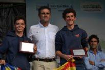 Quicorras y Binetti y Laiseca y Barrio, campeones de la Copa de España 29er