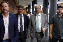 El precio del cuatripartito de Aragón: tres millones de euros más en sueldos de altos cargos