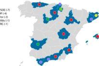 Estas son las provincias donde es más urgente la alianza entre PP y Ciudadanos
