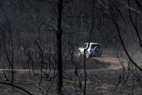 Un escape de un tractor causó el incendio de Monforte en el que ardieron 706 hectáreas