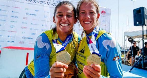Oro para Silvia Mas y Patricia Cantero y plata para Jordi Xammar y Nico Rodríguez, en la clase 470