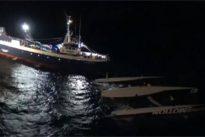 Vuelca el trimarán «Ultim Emotion» cerca de la costa de Portugal